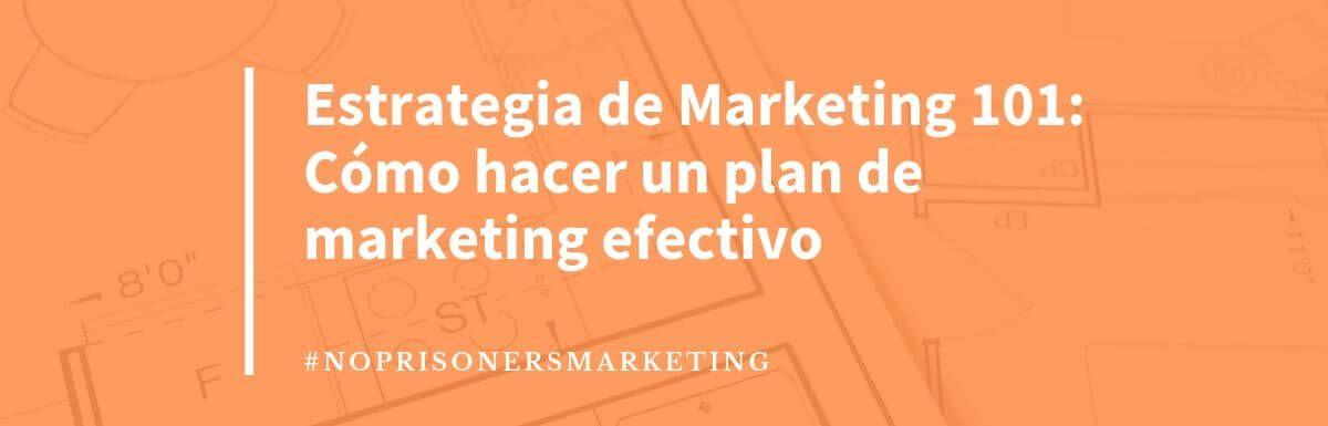 Cómo hacer una estrategia de marketing